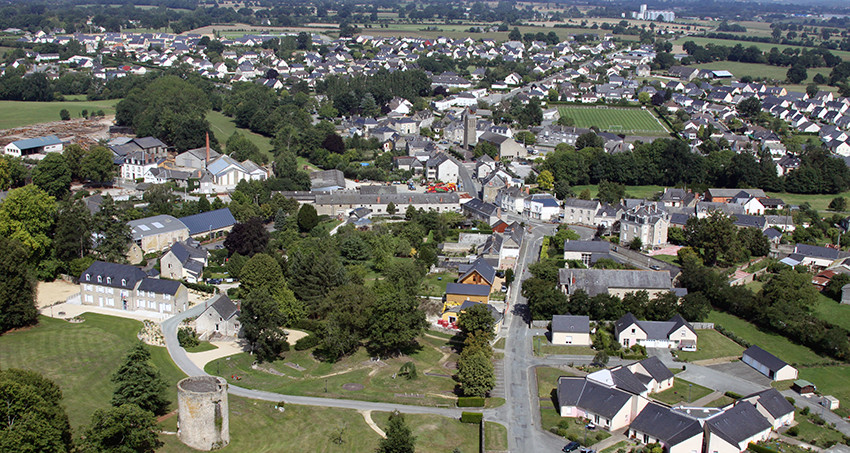 Photo de la ville d'Aron