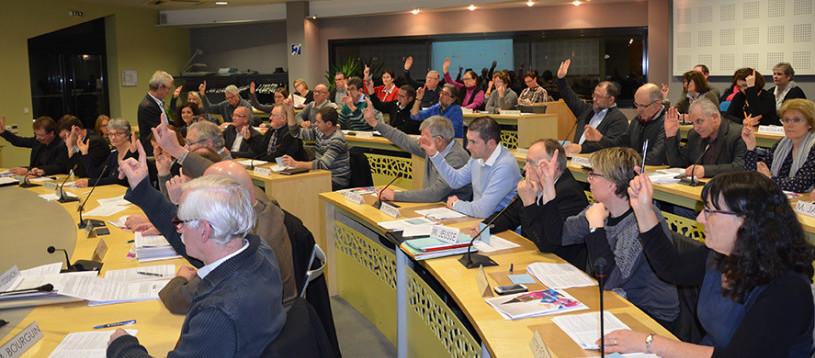 la fusion - le nouveau conseil communautaire de Mayenne Communauté
