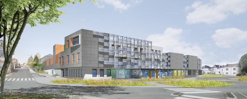 Le futur pôle santé de Mayenne communauté