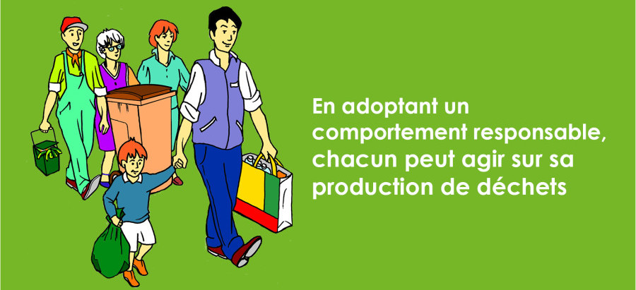 redevance incitative - adopter un comportement responsable illustration