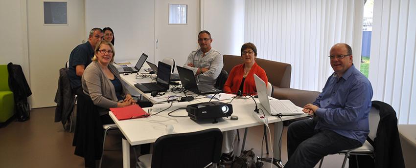 Accompagnement des porteurs de projets - réunion