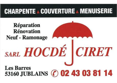 HOCDE CIRET Carte De Visite